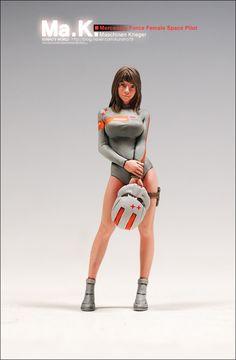 ■ Mercenary Force Female Space Pilot : 네이버 블로그