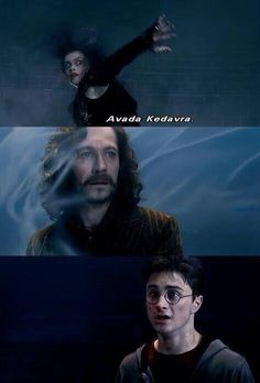 Dan did such an AMAZING job with this heartbreaking scene! Then David Yates went and CUT IT SHORT, deleted the sound, and left us hanging just as we were about to completely lose it. As awful as Sirius's death was, we needed to experience the emotions along with Harry, to be fully in that moment. Why did Yates insist on cutting short/diluting all the most intensely emotional scenes? He did an ok job on the last three movies, IMO, still some bones to pick, but OoTP he got too many things…