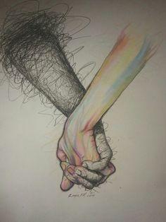Image via We Heart It https://weheartit.com/entry/175089939/via/3252172 #art #drawing #love #nice