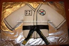 Blackbelt Birthday Cake