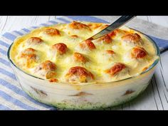 Miután felfedezed az ízvilágát, csak így fogod készíteni a krumplit. Csodás!| Cookrate -Magyarország - YouTube Quiche, Camembert Cheese, Mashed Potatoes, Macaroni And Cheese, Food And Drink, Breakfast, Ethnic Recipes, Facebook, Youtube