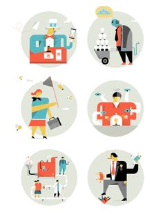 Love Illustrations by Romualdo Faura
