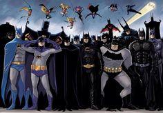 Batman en todas sus versiones
