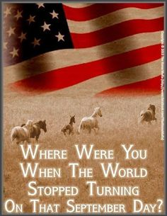 """After the September 2001 attacks Alan Jackson wrote this poignant song """"where were you. He sang it at the CMA's in 2001 as a tribute to all of the soldiers and people who had lost their lives that day. We Will Never Forget, Always Remember, Country Lyrics, Country Music, American Flag, American History, American Pride, 11 September 2001, Historia"""