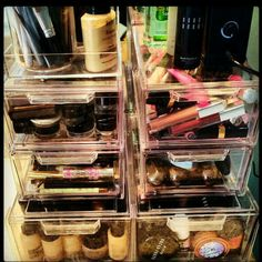 Makeup storage.. Need,  want