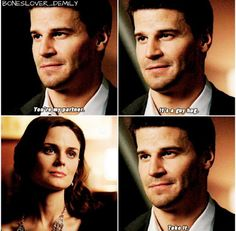 Bones Booth And Brennan, Bones Tv Show, David Boreanaz, World Of Books, Second World, Ouat, Awesome Stuff, Fun Things, Tv Shows