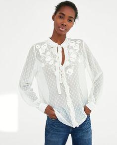 Camisas y blusas de mujer | Nueva Colección Online | ZARA Colombia