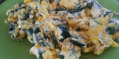 Spinach and Cheddar Scrambled Eggs - fast and easy with some extra fat to balance out the protein