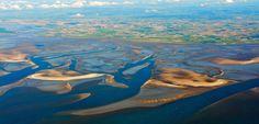 Sandbanks, near Büsumer Hafen, German Bight (DE) Still Standing, Coastal, German, Island, Painting, Stage, Memories, North Sea, Places