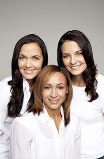 An Olympic Achievement? (Olympic hopefuls Jessica Ennis, Kerrie-Anne Payne and Victoria Pendleton in a beauty-product advert)