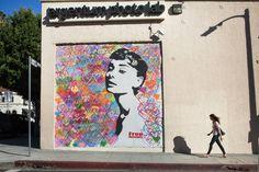 los angeles argentum photo lab audrey hepburn wall mural devon0024
