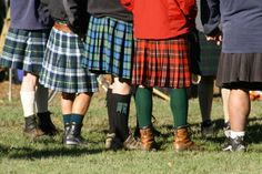 kilts... well I don't see the wild colors of my clan, oh well!