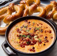 Bacon Ale Cheese Dip - THE COCOA EXCHANGE™ Recipe Blog