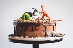 Easy dinosaur birthday party cakes and cupcakes that won't stress you out to throw a dinosaur-themed birthday party. You, too, can have a roaring good time.