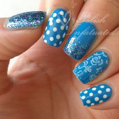 Bright blue skittle ♥ -Polish Infatuated
