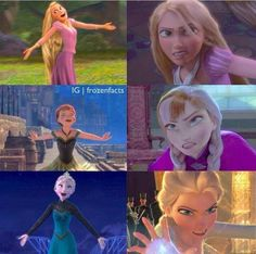 Frozen And Tangled, Disney Frozen, Disney Pixar, Disney Characters, The Snow Queen 3, Meaning Of True Love, Rapunzel And Eugene, Der Computer, Arte Disney