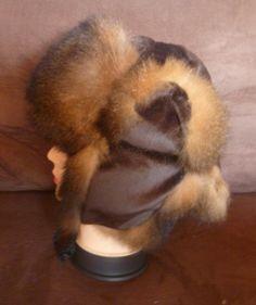 f1117875a42 New Zealand Possum Fur Man s Bush Hat Fur Inside by bearcottage Natural  Brown