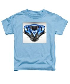 Toddler T-Shirt - Blue Car 01