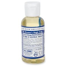 Dr. Bronner's has more uses than you will ever need in backcountry including TOOTHPASTE