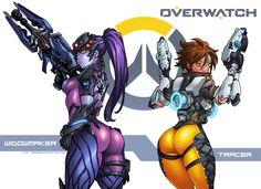 Overwatch by DarkerEve on deviantART