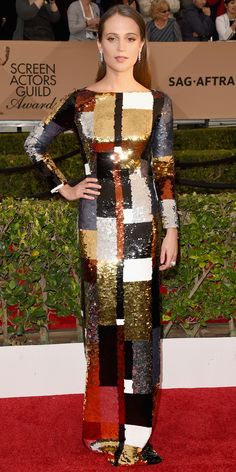 InStyle Fashion News Director Eric Wilson s Top 10 Best Dressed at the 2016  SAG Awards - c514043fac1b