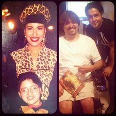 Sean Zambrano with the one and only Selena and recently with Chris Perez Selena Quintanilla Perez, Suzette Quintanilla, Selena Mexican, Selena And Chris Perez, Now And Forever, Real Quotes, Her Music, S Pic, American Singers