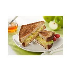 Deluxe Almond Butter Sandwiches | Appetizers and Snacks | Pinterest ...