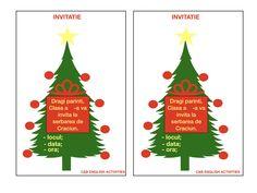 INVITATIE DE CRACIUN Advent Calendar, Holiday Decor, Blog, Home Decor, Decoration Home, Room Decor, Blogging, Interior Design, Home Interiors