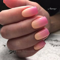 pretty nails for spring * pretty nails . pretty nails for summer . pretty nails for winter . pretty nails for spring . Gradient Nails, Cute Acrylic Nails, Neon Nails, Cute Nails, My Nails, Nails Today, Nails Kylie Jenner, Nails Yellow, Blue Ombre Nails