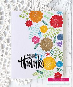 Yoonsun Hur: Stamp of Approval Lovely Notes Blog Hop