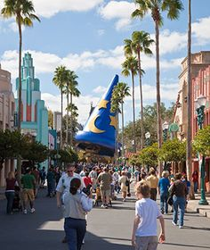 """Disney describes its Hollywood Studios park (est. 1989) as """"the Hollywood that never was and always will be."""""""