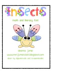 Go Buggy with Math and Literacy while learning about insects.  Your little entomologists will love this unit!  The unit includes:a nonfiction boo...