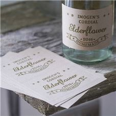 Order Get crafty with these rustic labels. Give your homemade creations a homemade touch.