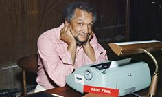 Redd Foxx did a really risky, yet honorable thing for his friend LaWanda Page (Aunt Esther) back in the day. Redd Foxx, Stand Up Guys, Sanford And Son, Black King And Queen, Classic Comedies, Tv Guide, Black History, Comedians, Movie Stars