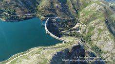 A Terceira Dimensão - Fotografia Aérea: Barragem de Vilarinho das Furnas