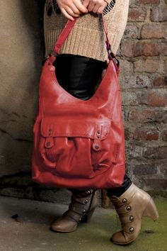 aunts and uncles Candy Apple burned red, Handbag L