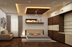 Bedroom Pop Design, Wardrobe Design Bedroom, Luxury Bedroom Design, Bedroom Furniture Design, Home Room Design, Interior Ceiling Design, House Ceiling Design, Ceiling Design Living Room, Bedroom False Ceiling Design