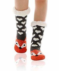 5 Pairs Women Socks Warm Christmas Cotton Socks Cosy Hi-Q Animal Printed Hosiery