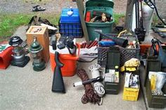 Bug out vehicle gear with amateur radio's.