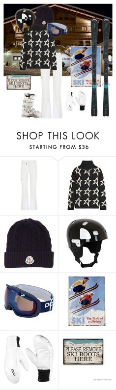 """""""IN THE ALPS"""" by bianca-gasparetti ❤ liked on Polyvore featuring Michelin, Peak Performance, Perfect Moment, Moncler, POC, Home Decorators Collection and Rossignol"""