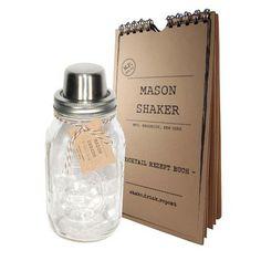 The Mason Shaker: The Mason Shaker & Cocktail Book, at 6% off!