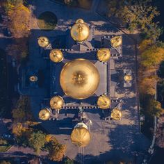 Autumn Kiev, Holy Pokrovsky Monastery, the old church of St. Nicholas. Drone photografy World's Biggest, Aerial Photography, Cinematography, Old Things, Photo And Video, Outdoor, Autumn, Outdoors, Cinema