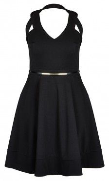Plus Size Date Night Dress - City Chic