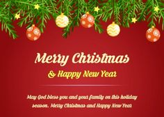 Christian Card Merry Christmas And Happy New Year 2021 10 Merry Christmas And Happy New Year 2021 Wishes Ideas Merry Christmas And Happy New Year Merry Christmas Happy New Year Wishes
