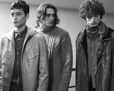 HERMES MENS AW16 backstage by Lonny Spence