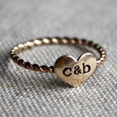 True Love Ring - gold filled   I love the gold one too!