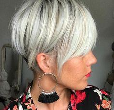 15 modèles cheveux courts tendance 2017 | Coiffure simple et facile