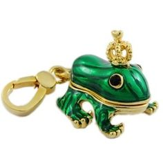 Juicy Couture prince frog charm