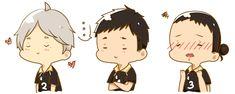 Sugawara, Daichi, Asahi.