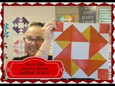 Block of the Month #7 July 2018 -- Strawberry Smoothie